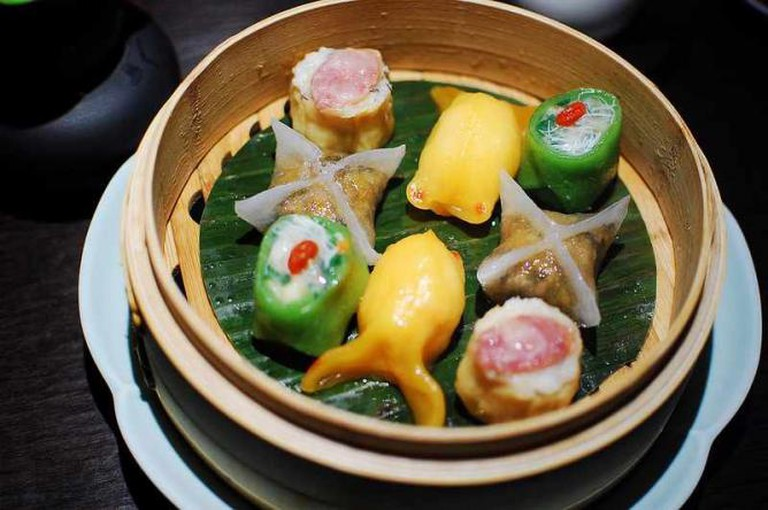 Steamed dim sum platter, at Hakkasan | © Anakorpa/Flickr
