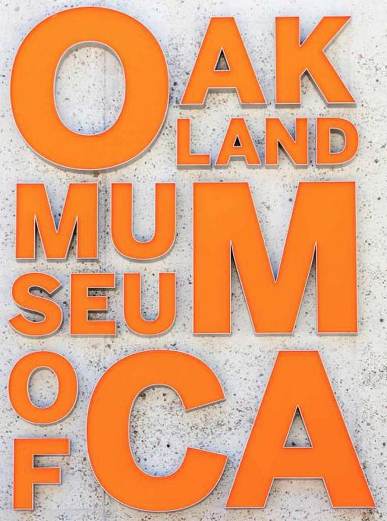 OMCA sign   © Thomas Hawk/Flickr