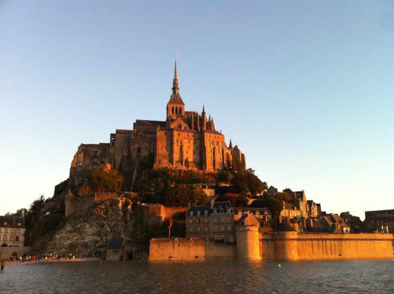 Mont-Saint-Michel at high tide | Courtesy of Hayley Ricketson