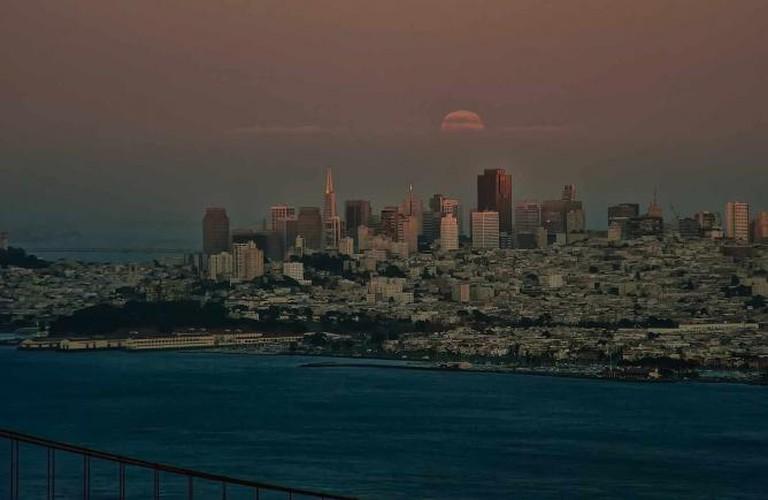 San Francisco by moonrise © Anita Ritenour/Flickr