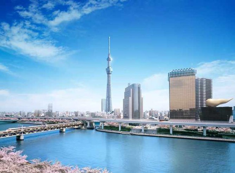 The Sky Tree in Tokyo | © Forge/Flickr