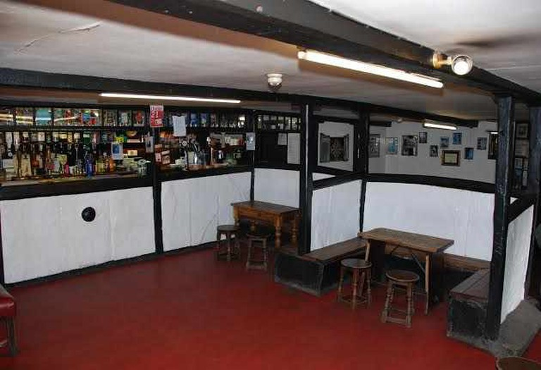 The bar - Image courtesy of Old Dungeon Ghyll