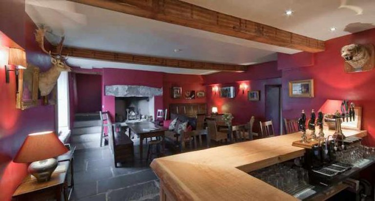 The bar at the Eltermere - Image courtesy of the Eltermere Inn