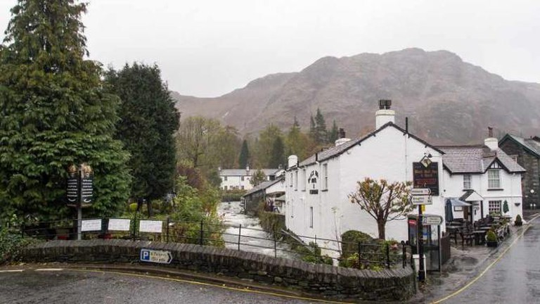 Coniston, featuring the Black Bull Inn © Ed Webster/Flickr