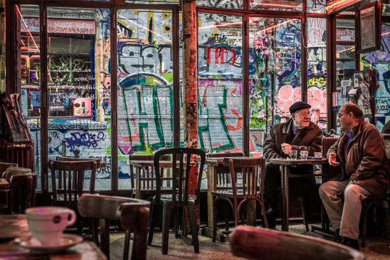 Old men in a Paris Café | ©Willy Verhulst/Flickr