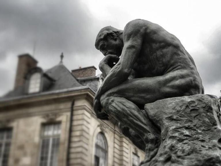 Rodin's The Thinker, Paris | ©jstarj/Pixabay