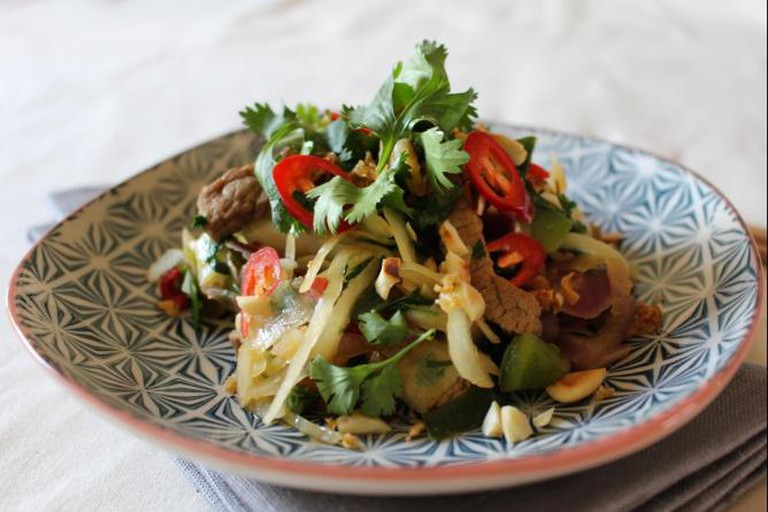 Asian stir-fry with beef | © Annelies Vermeir
