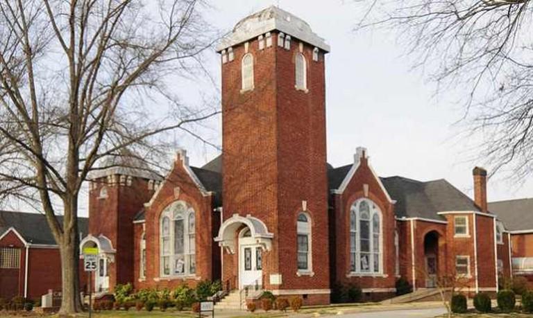 Simpsonville Baptist Church | © Bill Fitzpatrick/WikiCommons