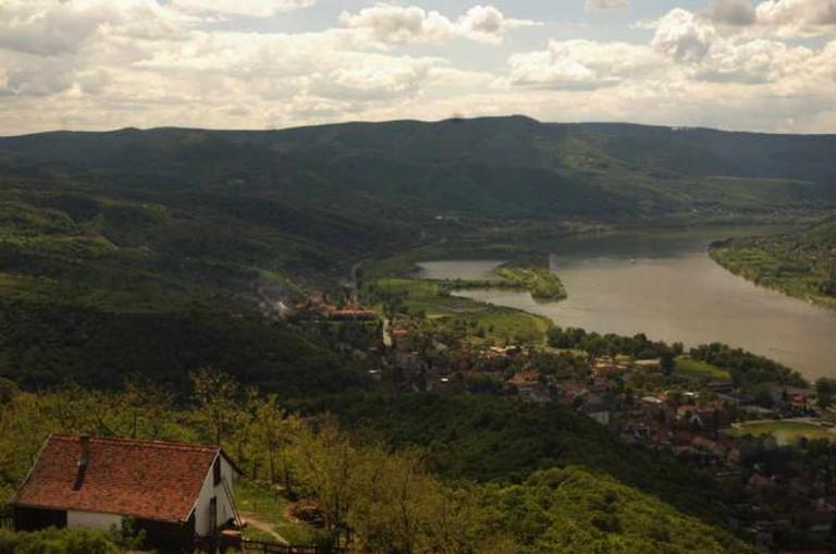 The view from Visegrád Citadel | © Honza Soukup/Flickr