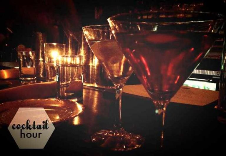 Cocktails at Williams & Graham.