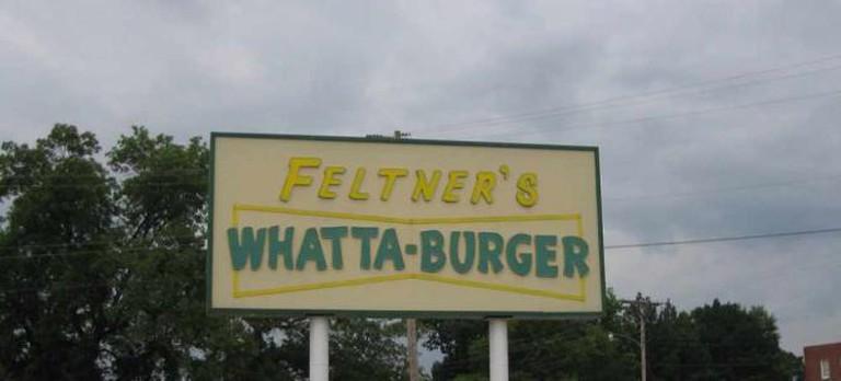Feltner's Whatta-Burger | © mrak75/Flickr (image cropped)