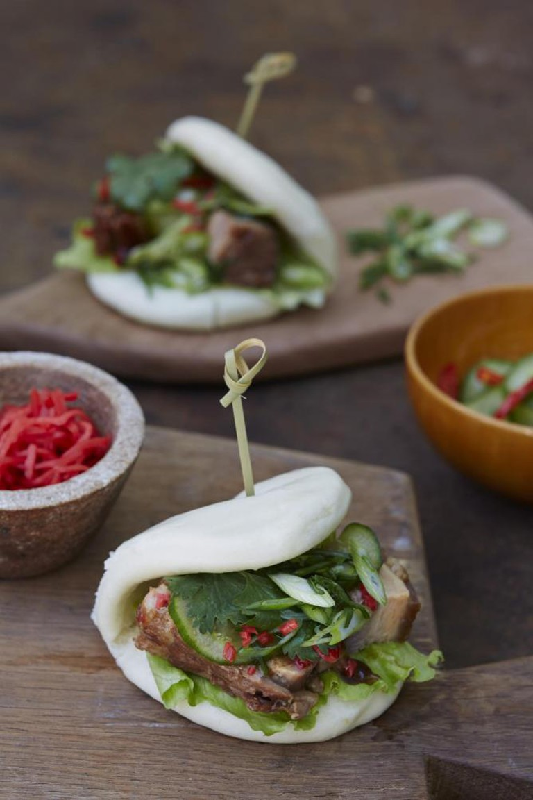 Another example of Nikkei delicacy: steamed buns | Recipes and images extracted from Nikkei Cuisine: Japanese Food the South American Way by Luiz Hara. Photography by Lisa Linder. Published by Jacqui Small (£25).