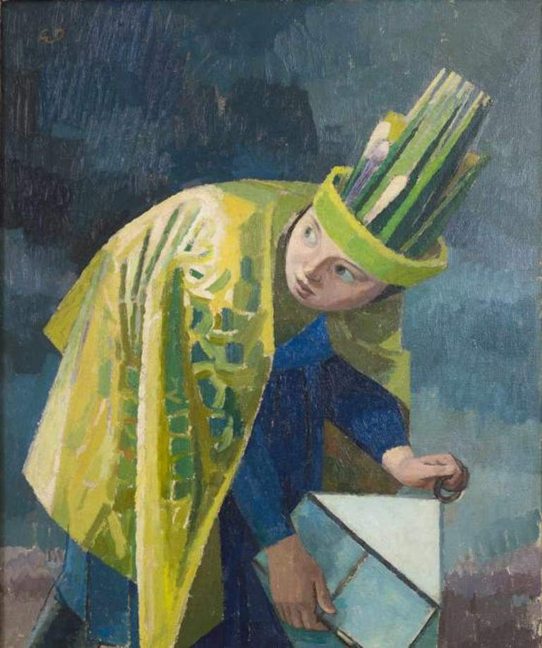 Evelyn Dunbar - February from The English Calender   The Artist's Estate, courtesy of Liss Llewellyn Fine Art