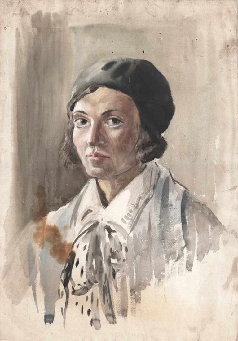 Evelyn Dunbar - Self-portrait (1930)   The Artist's Estate, courtesy of Liss Llewellyn Fine Art