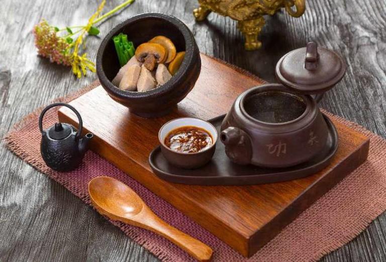 'Madam Vong' soup   Courtesy of Zuma Restaurant