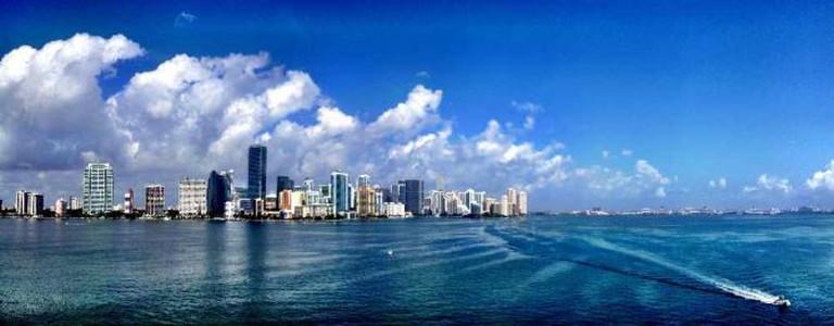 Miami from Rickenbacker | © Ines Hegedus-Garcia/Flickr