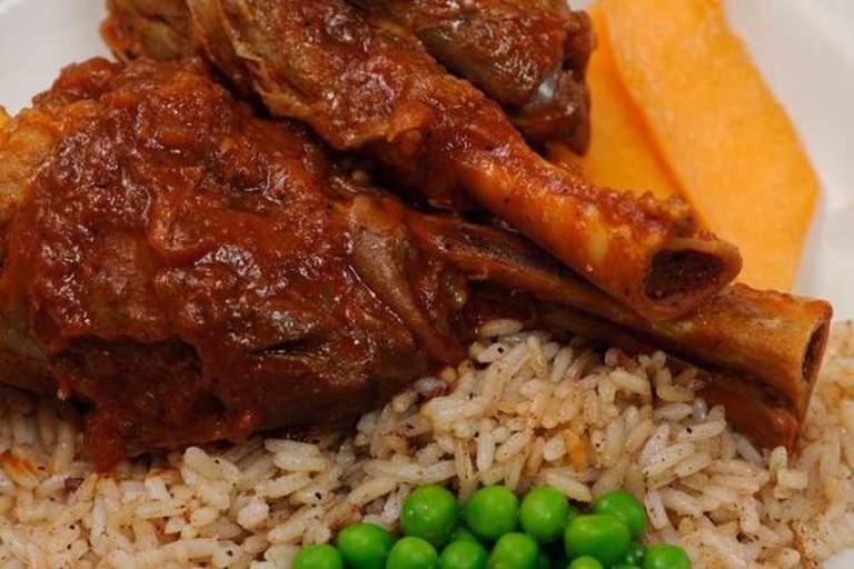 Lamb shanks | Courtesy of Epsilon Fine Greek Restaurant