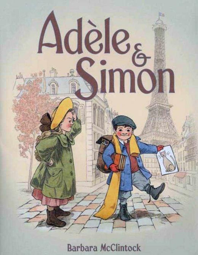 Adèle & Simon | © Barbara McClintock/Farrar, Straus and Giroux