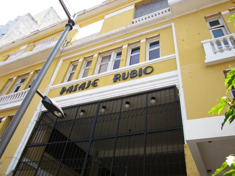 The Pasaje Rubio on the Sixth Avenue in Guatemala City