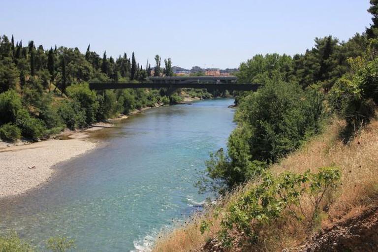 The Moraca River, Podgorica I © Charlie/Flickr