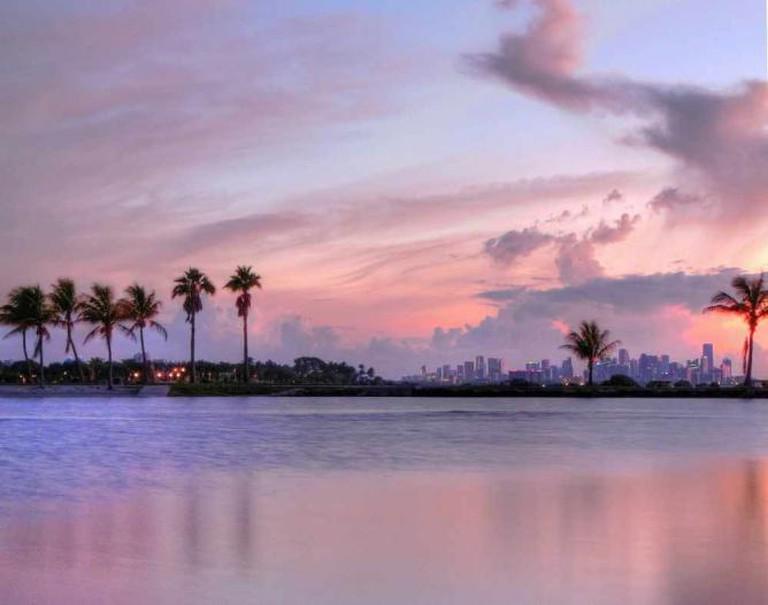 Matheson Hammock & Miami Skyline   © b k/Flickr