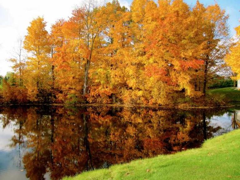 Maple Hill Golf Course pond | © Rachel Kramer/Flickr