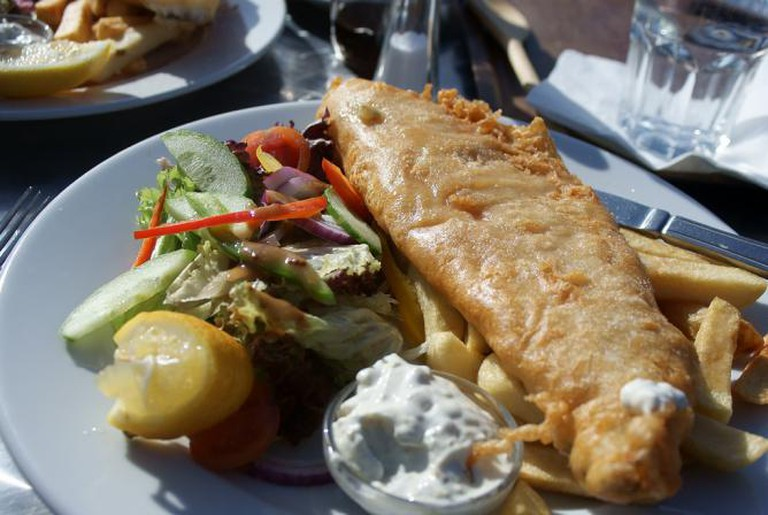 Fish and chips | © Sam Saunders/Flickr