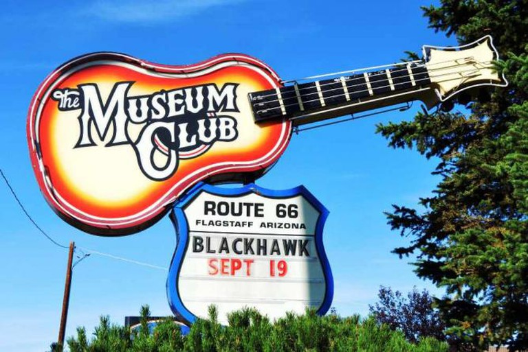 Museum Club Sign