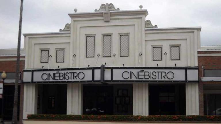 Cinebistro before opening