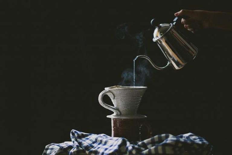 Pourover coffee | © Betty Liu