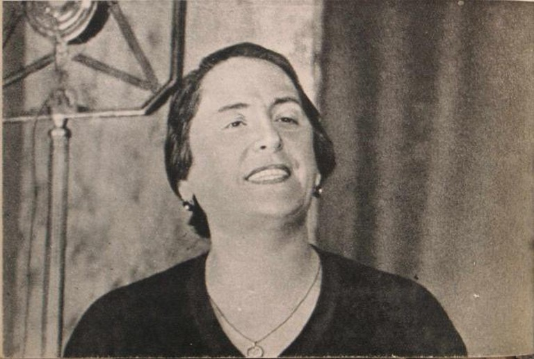 La Pasionaria's famous Goodbye Address to the International Brigades I © Wikkicomons