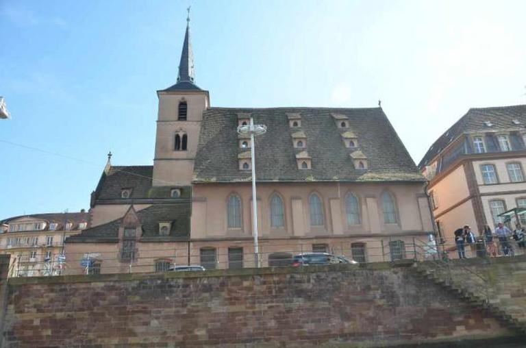 Strasbourg. L'église Saint-Nicolas | © Antoine SIPOS/Flickr