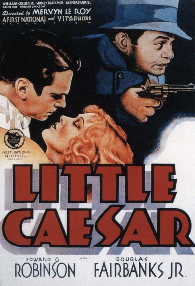 Little Caesar Theatrical Poster © First National Pictures, Warner Bros. Pictures, Inc