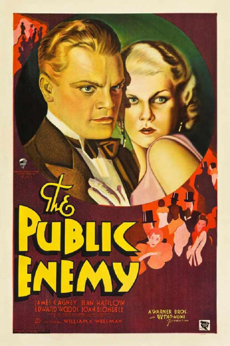 The Public Enemy Theatrical Poster © Warner Bros.