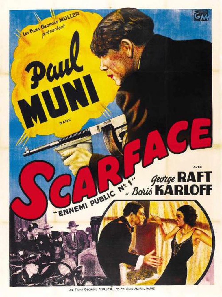 Scarface: The Shame of the Nation Theatrical Poster © The Caddo Company, United Artists