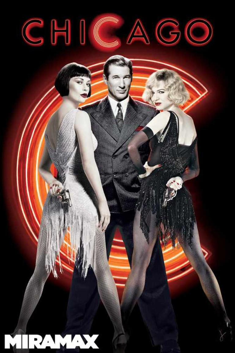 Chicago Theatrical Poster © Producer Circle Co. Zadan/Meron Productions, Miramax Films