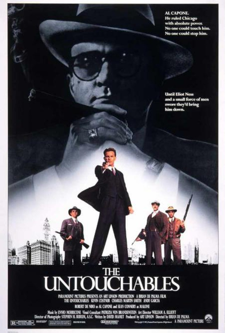 The Untouchables Theatrical Poster © Art Linson, Paramount Pictures