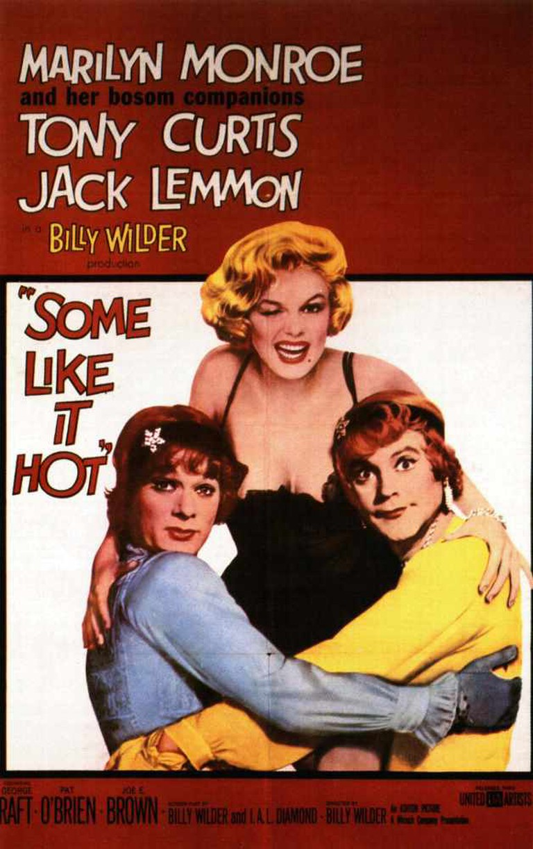 Some Like It Hot Theatrical Poster © Mirisch Company, United Artists
