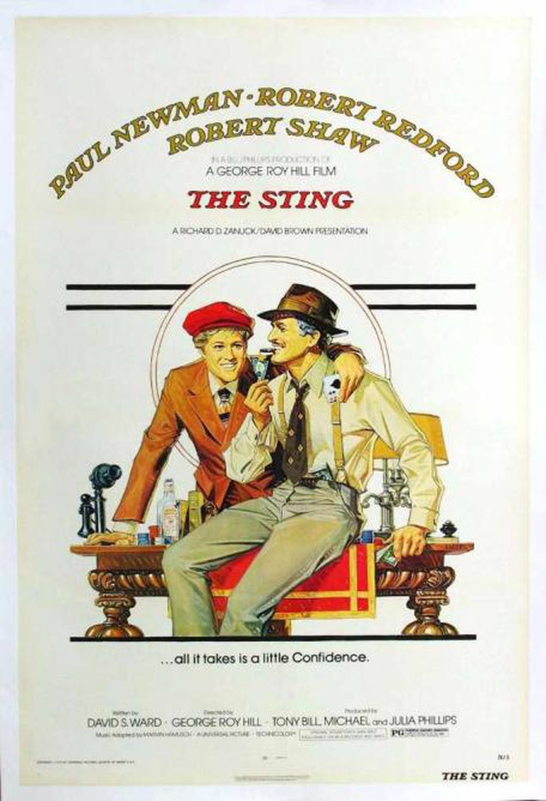 The Sting Theatrical Poster © Universal Pictures