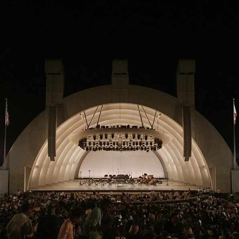 The iconic Hollywood Bowl in Hollywood | Courtesy of Andrew Oxenham