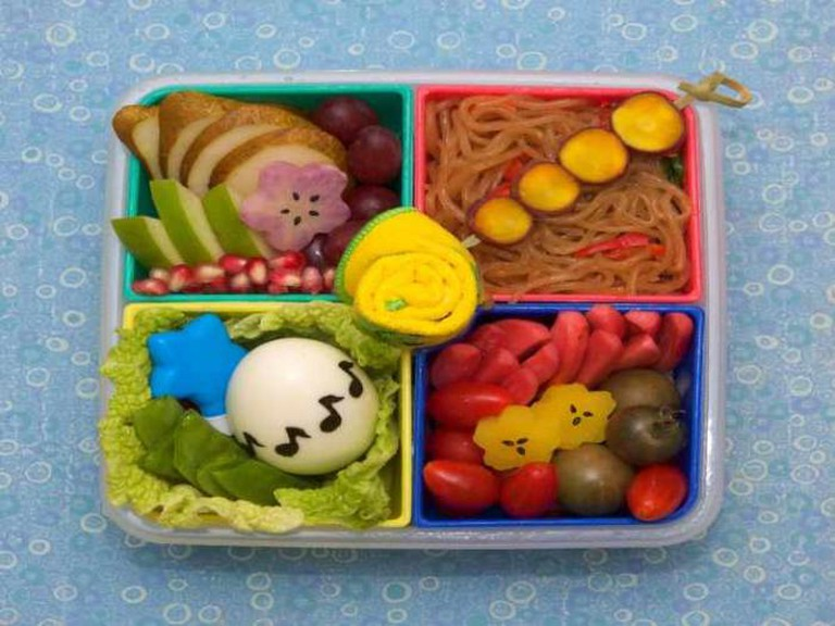 Japchae bento | © Gamene/Flickr