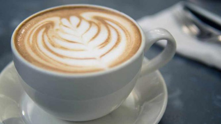 Cappuccino with Whipped Cream in White Cup   © Image Catalog/Flickr