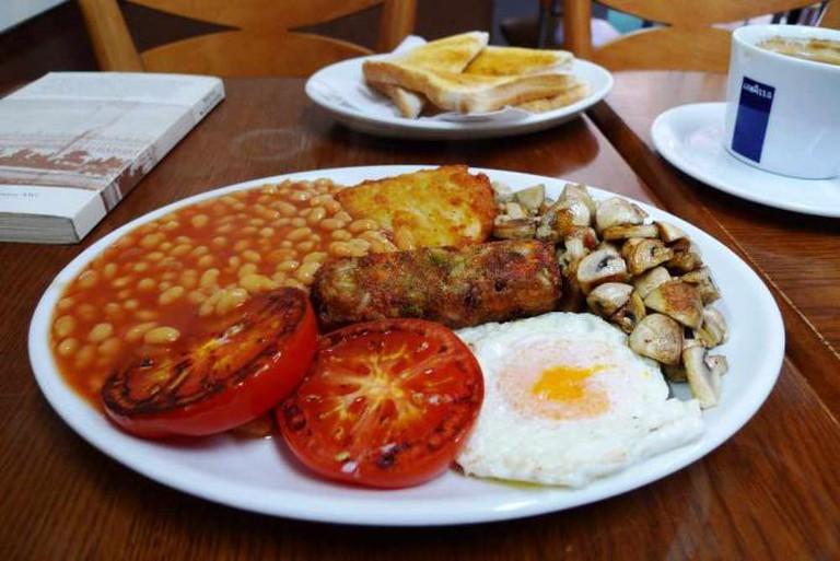 Vegetarian breakfast   © Ewan Munro/Flickr
