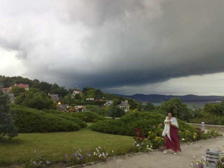Tihany, Echo-hill