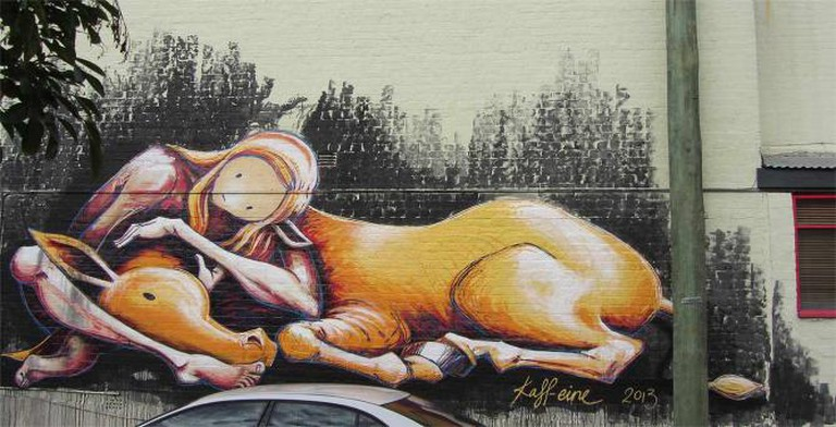 Street art by Kaff-eine | © Newtown Graffiti/Flickr