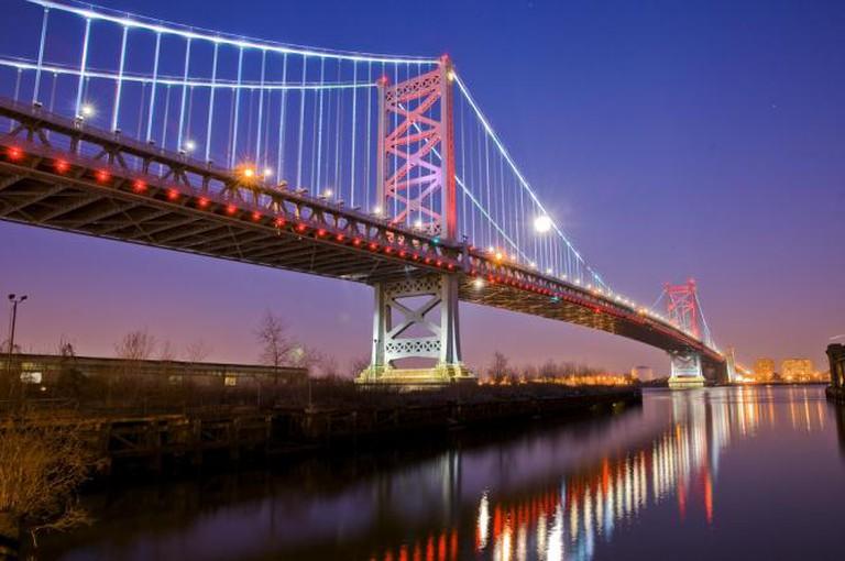 Benjamin Franklin Bridge, Philadelphia I © Khush/Flickr