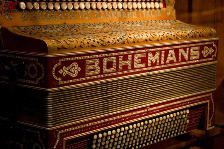 Italian accordion | © MIM Brussels