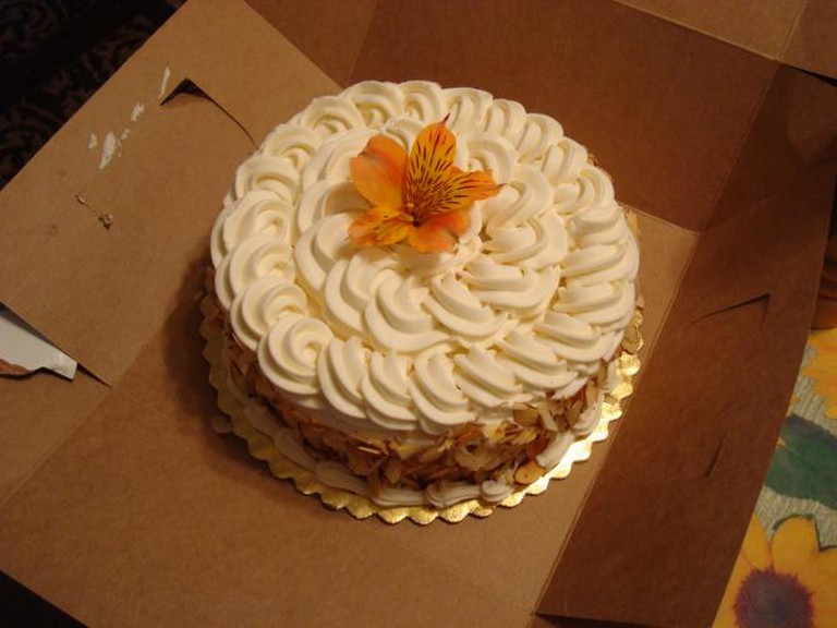 Birthday Cake! [The Buttery]   © Miriam Lueck Avery/Flickr
