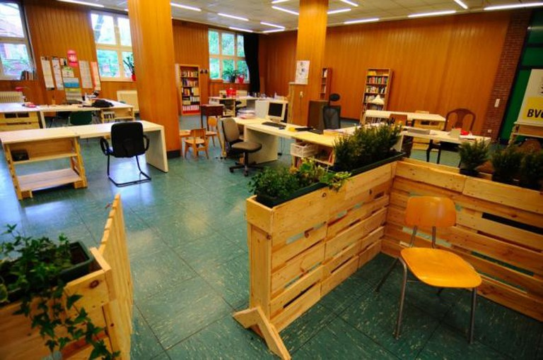 Coworking Space | Courtesy of Alte Kantine