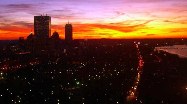 Boston Sunset © Boston Sunset/flickr